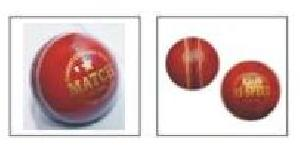 Leather Cricket Ball 04