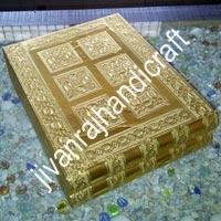 Golden Jewellery Box (12x10)