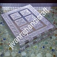 Silver Jewellery Box (12x10)