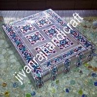 Silver Meenakari Bangle Boxes