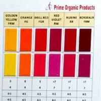 Textile Shade Card