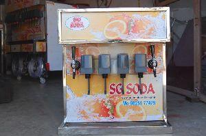 4+2 Soda Fountain Machine