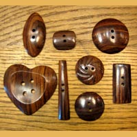 Buffalo Horn Button 12