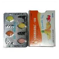 Kamagra Chewable 100mg Tablets