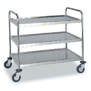 Three Tyre Kitchen Trolley