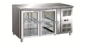 Under Counter Chiller with Glass Doors
