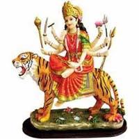 Marble Durga Statue 07