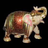Marble Elephant Statue 10