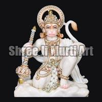 Marble Hanuman Statue 01
