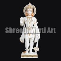 Marble Hanuman Statue 02