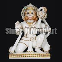Marble Hanuman Statue 04