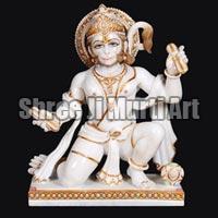 Marble Hanuman Statue 05
