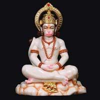 Marble Hanuman Statue 08