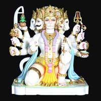 Marble Hanuman Statue 10