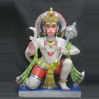 Marble Hanuman Statue 12