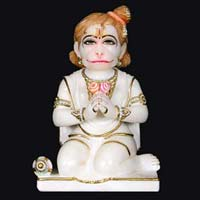 Marble Hanuman Statue 14