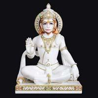 Marble Hanuman Statue 15