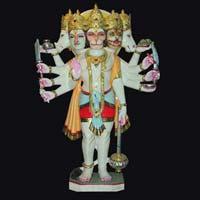Marble Hanuman Statue 16