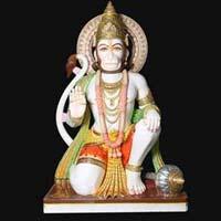 Marble Hanuman Statue 17
