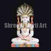 Marble Jain Statue 01