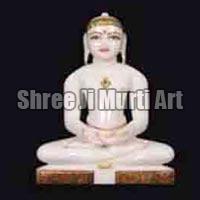 Marble Jain Statue 02