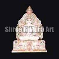 Marble Jain Statue 03