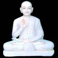 Marble Jain Statue 04
