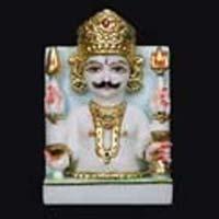 Marble Jain Statue 05