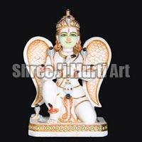 Marble Laxmi Narayan Statue 04