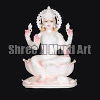 Marble Laxmi Statue 01