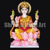 Marble Laxmi Statue 02