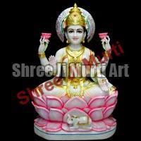 Marble Laxmi Statue 03