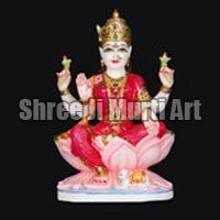 Marble Laxmi Statue 04