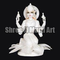 Marble Laxmi Statue 06
