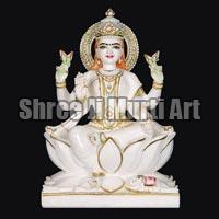 Marble Laxmi Statue 07