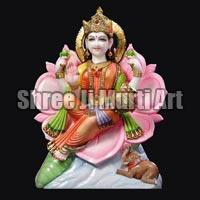 Marble Laxmi Statue 08