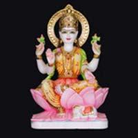 Marble Laxmi Statue 12
