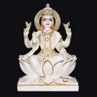 Marble Laxmi Statue 15