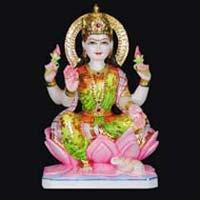 Marble Laxmi Statue 09