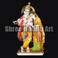 Marble Radha Krishna Statue 09