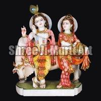 Marble Radha Krishna Statue 10
