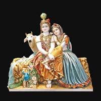 Marble Radha Krishna Statue 13