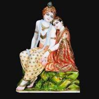Marble Radha Krishna Statue 14