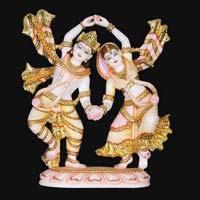 Marble Radha Krishna Statue 15