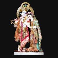 Marble Radha Krishna Statue 19
