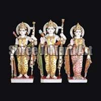Marble Ram Darbar Statue 01