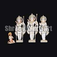 Marble Ram Darbar Statue 02