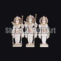 Marble Ram Darbar Statue 03