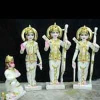 Marble Ram Darbar Statue 05