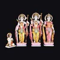 Marble Ram Darbar Statue 06